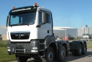 Спецавтолэнд - Кран-манипулятор - MAN TGS 41.430 BB-WW 8x8 шасси, НОВЫЙ